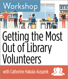 Image for Getting the Most Out of Library Volunteers Workshop—Group Rate