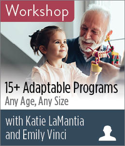 Image for 15+ Adaptable Programs: Any Age, Any Size Workshop