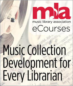 Image for Music Collection Development for Every Librarian eCourse