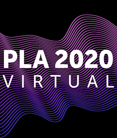 PLA 2020 Virtual logo