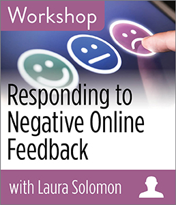 Image for Responding to Negative Online Feedback Workshop