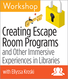 Image for Creating Escape Room Programs and Other Immersive Experiences in Libraries Workshop—Group Rate