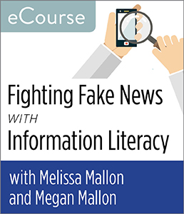 Image for Fighting Fake News with Information Literacy eCourse