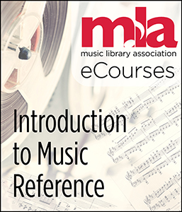 Image for Introduction to Music Reference eCourse