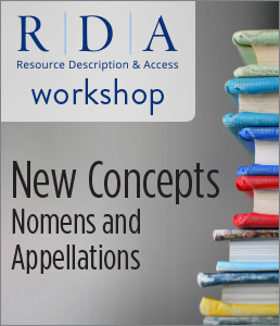 Image for New Concepts: Nomens and Appellations Workshop