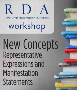 Image for New Concepts: Representative Expressions and Manifestation Statements Workshop