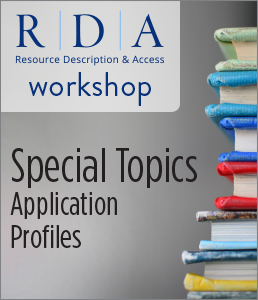 Image for Special Topics: Application Profiles Workshop—Group Rate