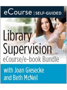 Image for Library Supervision eCourse/e-book Bundle