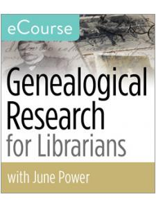 Image for Genealogical Research for Librarians eCourse